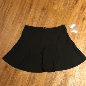 Forever 21 Black skater skirt- large